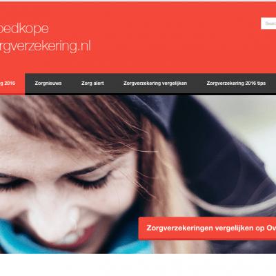 Goedkopezezorgverzekering.nl-head